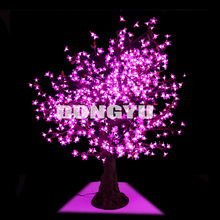 super artificial pink LED cherry trees stand at 1.5m high and 1.4m wide with branches