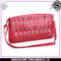 2015 China best sale red cute design women shoulder bag