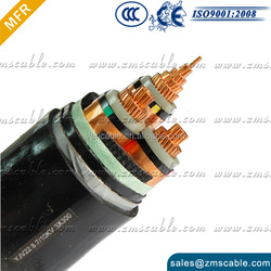Professional china experienced power cable 3 core 19/33kV Cu/PVC/XLPE power cable