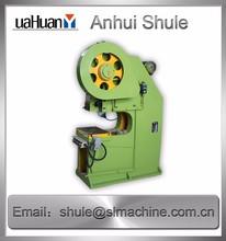 semi automatic flange punching machine coin