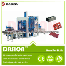 alta eficiencia ds12-15 completo- automático ladrillos entrelazados concreto que hace la máquina