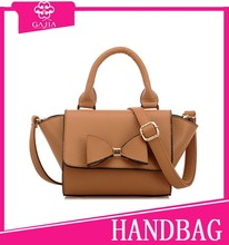 12.7USD China in stock OEM production genuine leather ladies fashion hand bag