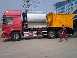 sinotruck synchronous chip sealer ,machinary asphalt spray sealer for sale road construction