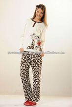 damas pijama de algodón para las niñas