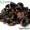 Decorative and Protection dark horse rda chuff drip tips suitable mechanical mod vape band silicone wristband with logo printed