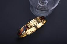Unisex rose gold plated alloy magnetic wholesale italian charm bracelets