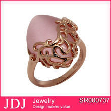 Sterling Silver Jewelry Latest Gold Plated Rings Design For Women