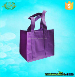 promotion non woven bottle wine tote bag wholesale