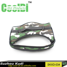 Hot selling thick harness dog camouflage vest harness dog body harness