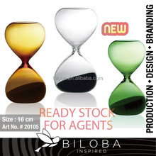 Hourglass timer ,Colourful hourglass , Premium Quality.USA DESIGN