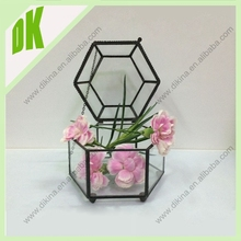 //story for your plants, with your imagination,creat your own scene //hanging geometric glass terrarium wholesale