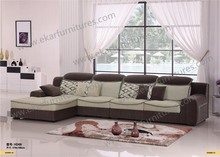 Japanese Style Simple Design Fiber Recliner Sofa Set