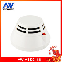 Addressable Two Wire Bus Photoelectric Home Fire Alarm Smoke Detector With CE Approved 24V