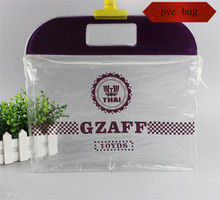 Professional Factory Supply China clear zipper pvc cosmetic bags with competitive offer