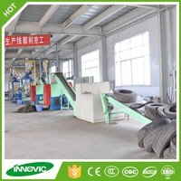 New Design Type Waste Tire Recycling Plant/Green Waste Shredder