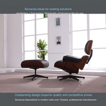 CH-001# Herman Miller Eames lounge chaise chair with ottoman
