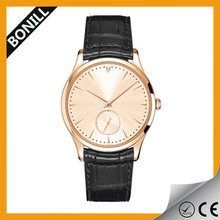 Hot Sale! Authentic Leather Straps Men Military Watch With Factory Price Wholesale