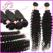 New 10 - 32 Inch Deep Wave 100% Peruvian Virgin Human Hair Factory Wholesale