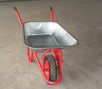 WB6425 100L building construction small tools and equipment hand pallet trucks Wheelbarrow