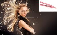 2014 Colorful Pink Gorgeous Ceramic Hair Straightener 40w JRI-066A