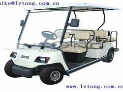 6 seater electric club golf car solar vehicle (LT-A4+2)
