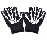 Skull screen Touch Screen Gloves