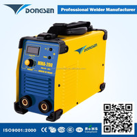 Heavy duty mma 200 portable welding equipment arc inverter welder