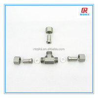 3 way stainless steel equal elbow welded tube connector pipe fittings
