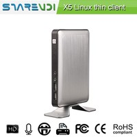 Quad core CPU thin client supports mic and speaker SKYPE IP phone chatting
