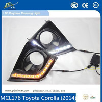 most new style day time running lighting led car drl Toyota Corolla 10-13 led