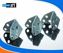 L type Iron tablets bracket No.04 DIY accessories of model science and technology making fixed frame plate 60 pcs/lot
