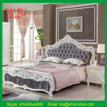 Latest design hot selling soft bedroom furniture for tall people furniture