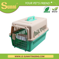 Luxury pet travel cage cat carrier
