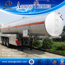 3 axle semi trailer transport oil tanker / fuel tank