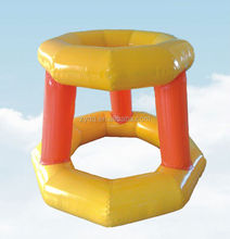 Newest design of inflatable basketball hoop water game water toy