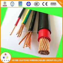 Electric wire and cable NYAF