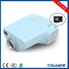 HDMI Portable Mini 1080p LED home theater projector,AV VGA USB SD Home Projector,Pico Projector For Laptop TV Phone Blac