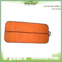 Fashion foldable polyester Suit Cover bag , garment bag