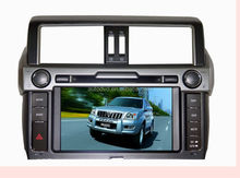 2014 to-yo-ta p-ra-do (high vers-ion with emergency button) Car DVD navigaiton with IPOD BLUETOOTH