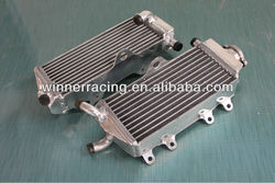 alloy aluminum radiator for Yamaha YZ125 2-stroke 2002-2004