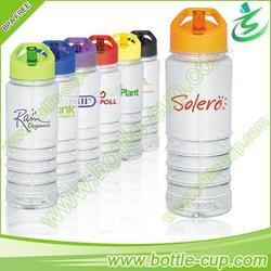 750ml squeeze sports filtered water bottle with custom logo