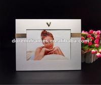 aluminum add zinc alloy heart shap logo photo frame wholesale 4x6 picture frames