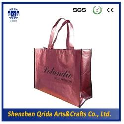 matellic foil Promotional PP Non Woven Shopping Bag