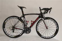 Competitive price 22 speed complete cheap carbon road bike China factory directly sale carbon frame bike