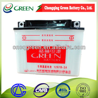 Motorcycle battery for two wheels motorcycle general battery 12V 5AH(6AH 7AH 9AH)