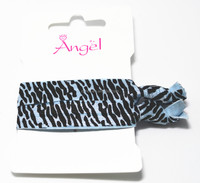 beautiful knot hair Elastic band with printing,beautiful knot hair accessory with printing, knot topknot