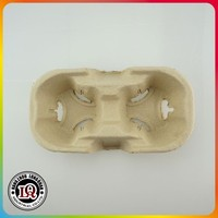 Paper Pulp 2 Cup Carrier