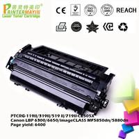 Cartridge Toner Wholesale from China FOR USE IN Canon LBP 6300/6650/imageCLASS MF5850dn/5880dn (PTCRG-119II/319II/519 II/719II)