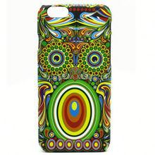 New arrives Animal world Bird pattern hard plastic back case luminous pc case for iPhone 6 plus