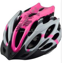 Adult road riding pink dirt mountain helmet bike